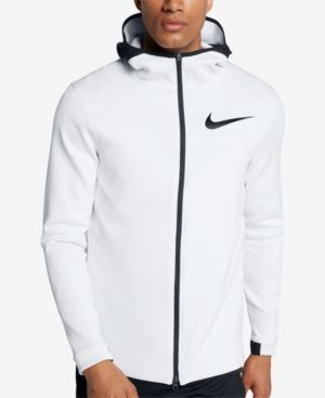 dd102f717000 Nike Men s Therma Flex Showtime Zip Basketball Hoodie - White 2XL ...