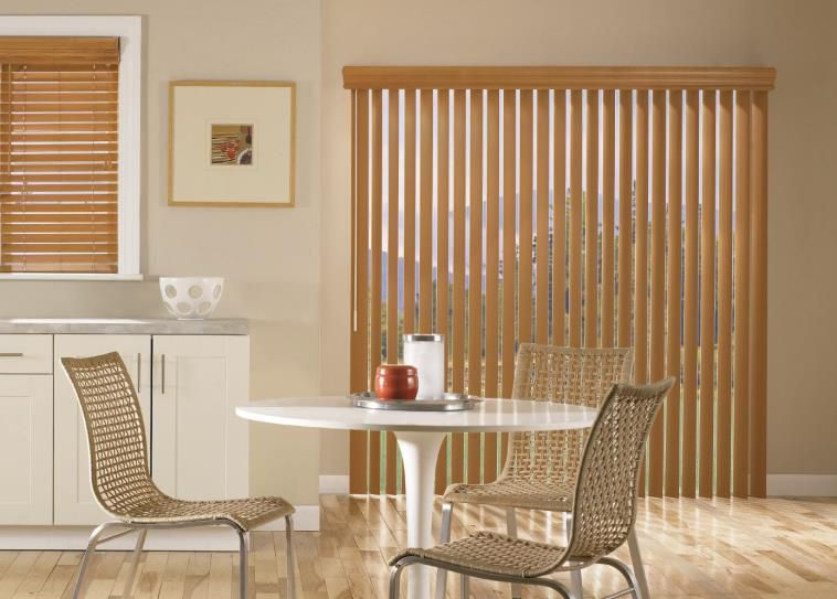 Vertical Blinds Has Many Styles And Colors That Will Enhance Any