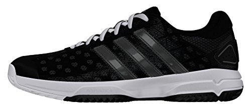 adidas Barricade Club Xj - cblack/ngtmet/ftwwht, Größe:32 - http://on-line-kaufen.de/adidas/32-eu-adidas-barricade-club-tennisschuh-kinder-3-5
