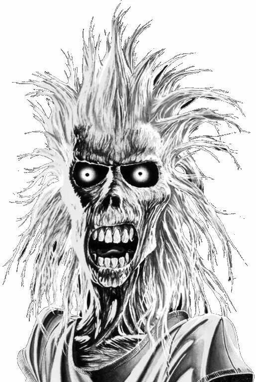 Eddie-Iron Maiden......... | Maiden in 2018 | Iron Maiden, Iron, Metal