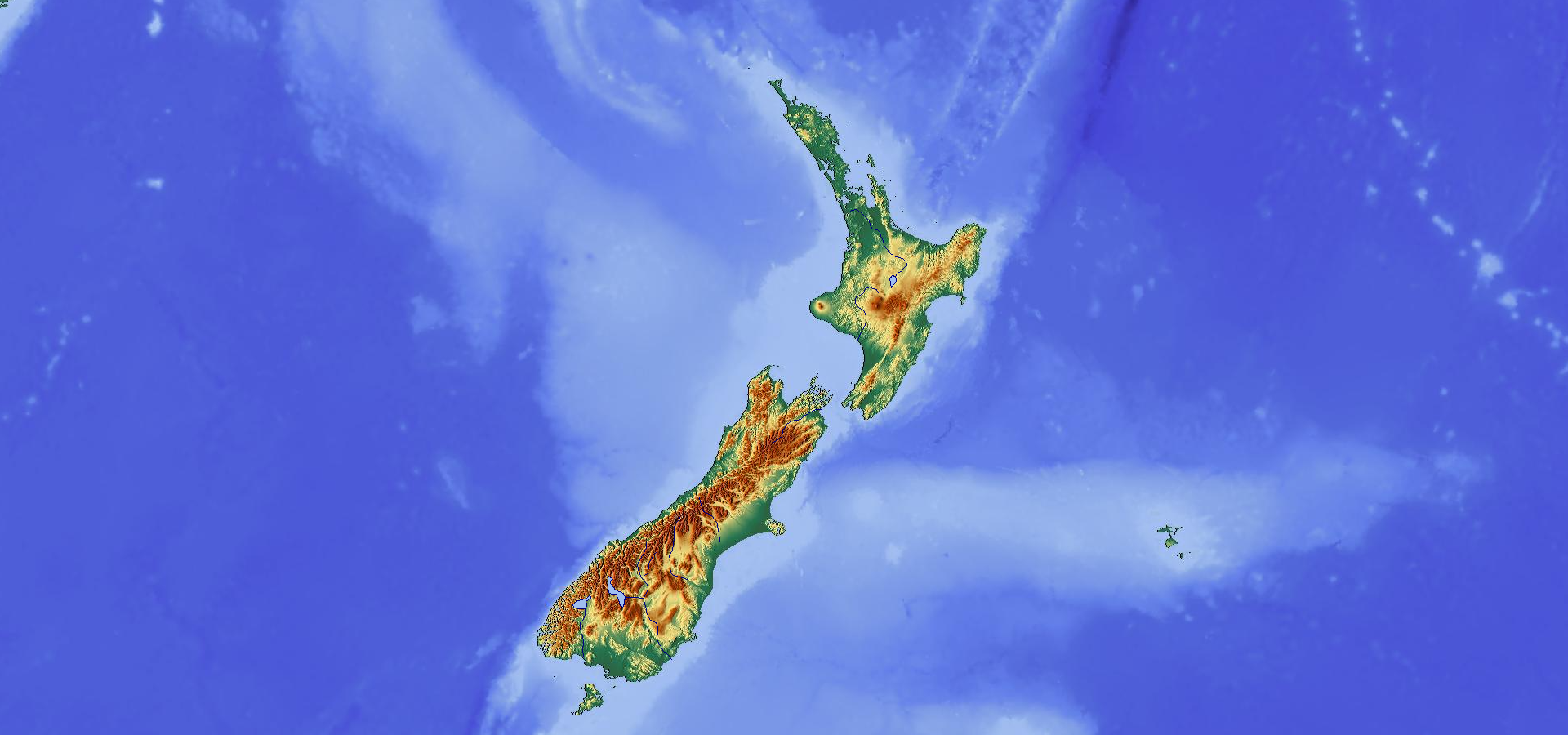 Topographic Map Of New Zealand.Topographic Map Of New Zealand Maps Of Australia Australasia