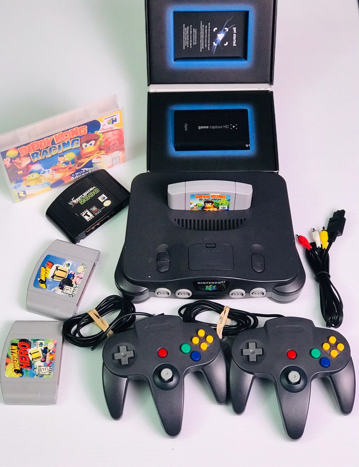 Listing Includes Elgato Game Capture Hd Stream Older Games Elgato Comes In Authentic Box With Cables Nintendo 64 S Nintendo 64 Elgato Game Capture Old Games