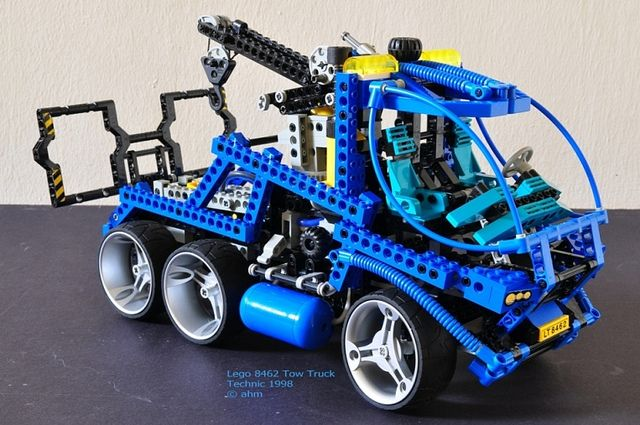 Lego Technic 8462 Tow Truck. I've always hoped that some day I can pick one  of these up used somehow.