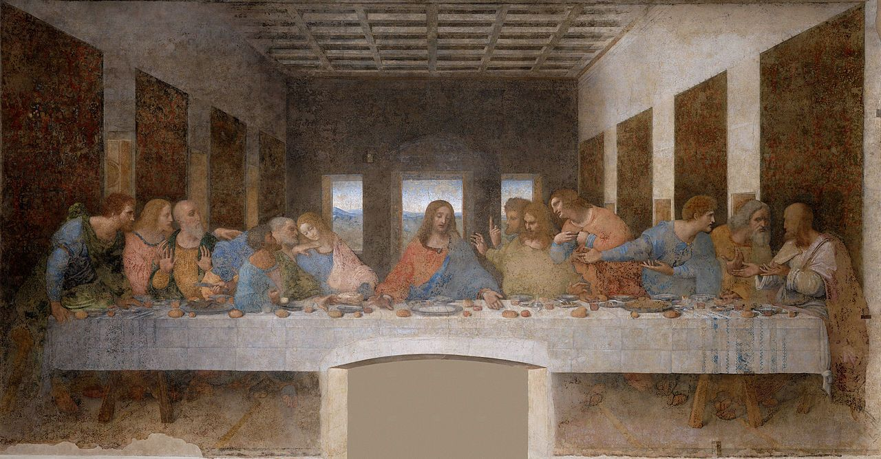 The Last Supper Is Undisputedly One Of The World S Masterpieces Of Painting Its Value Inseparable Fr In 2020 The Last Supper Painting Da Vinci Last Supper Last Supper