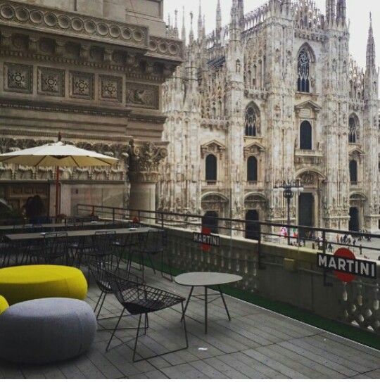 Terrazza Martini Milano   dream town  Bella