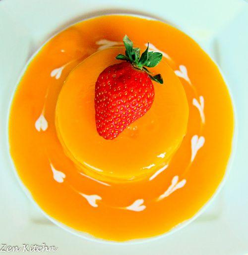 Zen Kitchn: Mango Mousse Cake