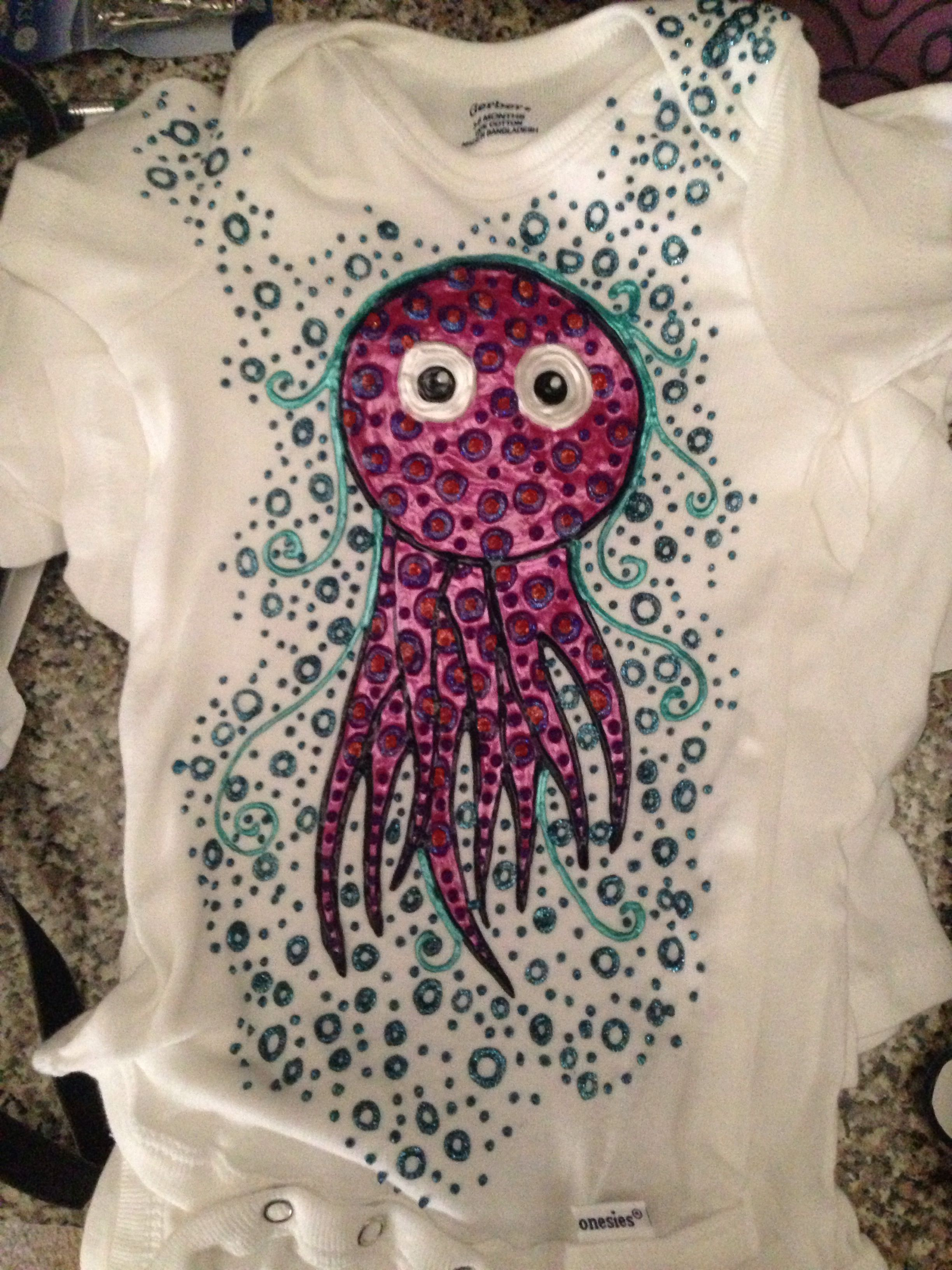 Octopus #puffypaint