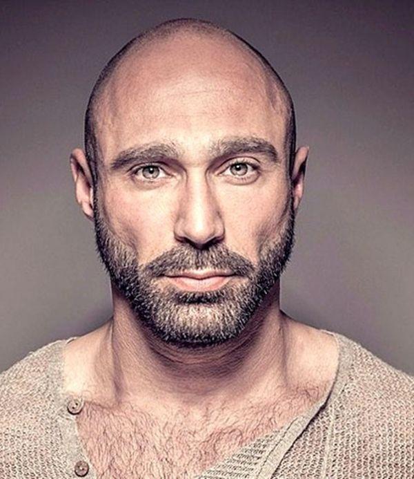 42 Dapper Beard slogi za plešaste moške brade plešaste moške-4835