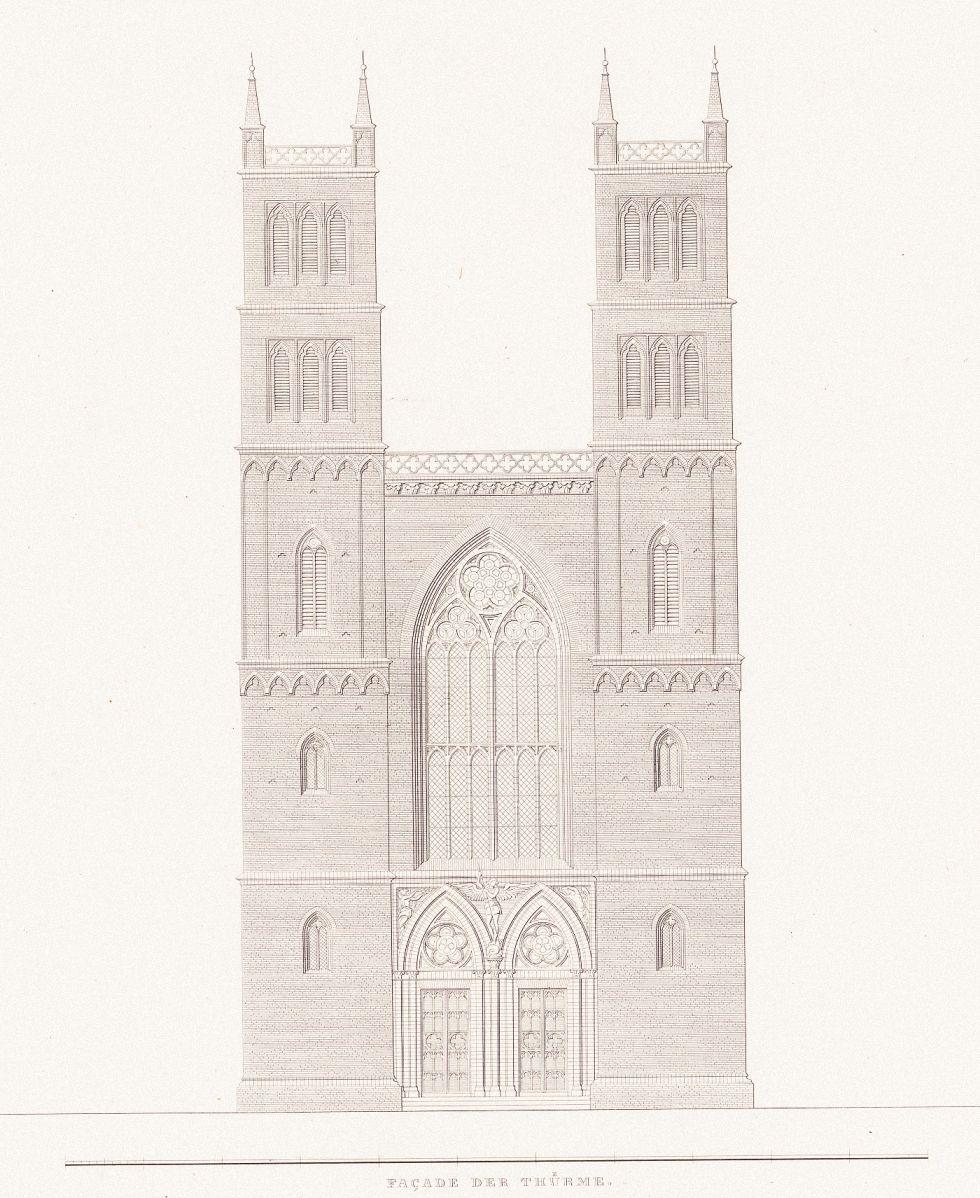 Karl friedrich schinkel 1781 1841 sammlung architektonischer entwürfe berlin 1858 friedrichswerdersche