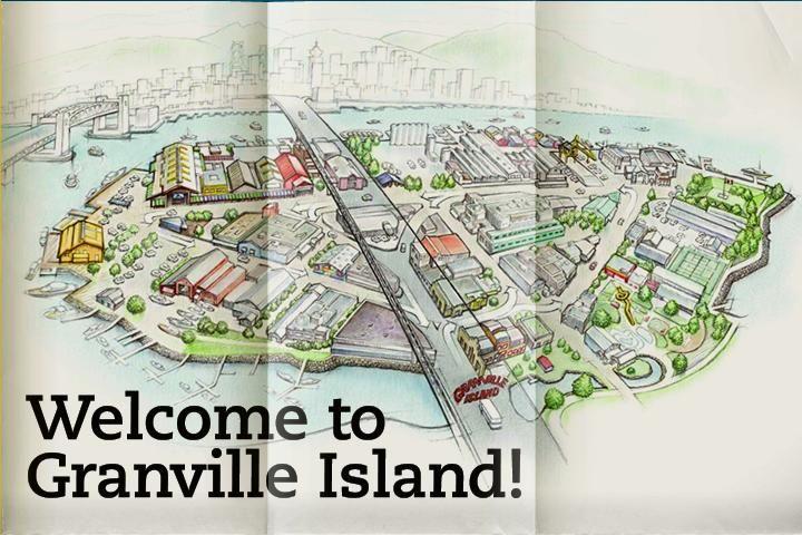 Granville Island Public Market Walk around and enjoy all the