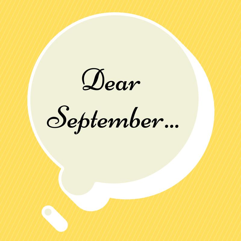 Bye bye September, hello October