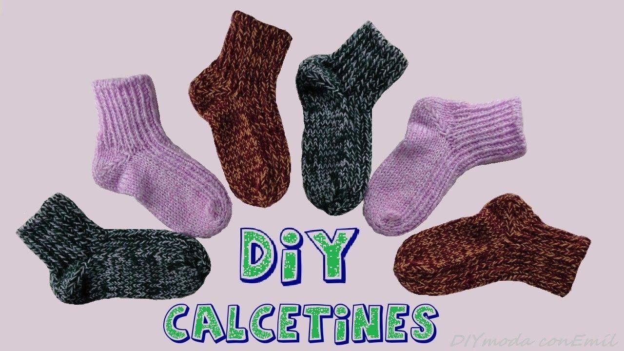 Cómo tejer calcetines con dos agujas, paso a paso. | punto en 2018 ...