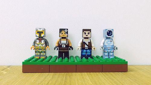 Lego Minecraft 2 Nowe Zestawy Skórek Minecraft Polska Lego