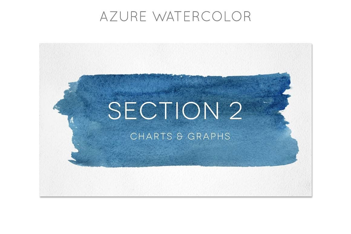 Watercolor Powerpoint Template Templates Gorgeous Include