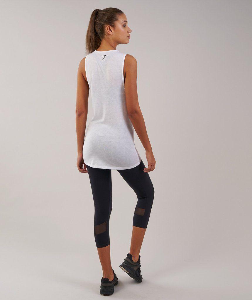 e11df1b735a080 Gymshark Motion Vest - White in 2018 | xmas | Pinterest | Vest and Xmas