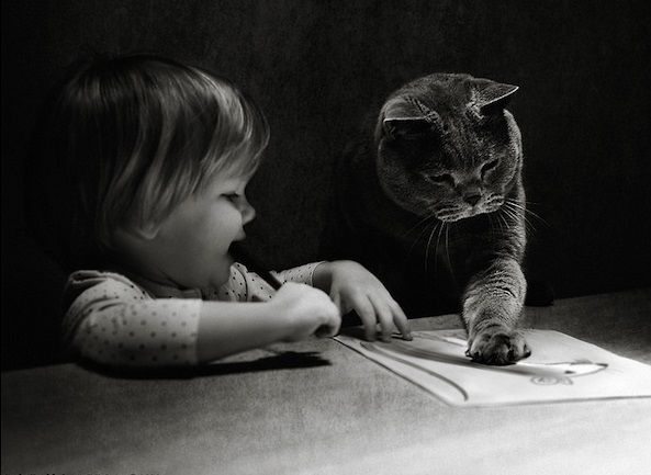 A Girl Grows Up With Her Best Friend As A Cat!