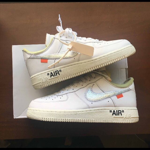 Nike Air Force 1 Low White Mens Sale,Nike Air Force 1 Low Womens White Cheap,FSR OFF WHITE x Pure Air Force 1 LOW OW AF1 Air Fo