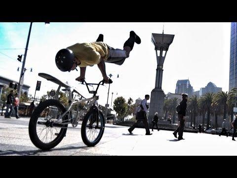 Parktour Pe Biciclete In San Francisco Parkour Bmx Bmx Freestyle