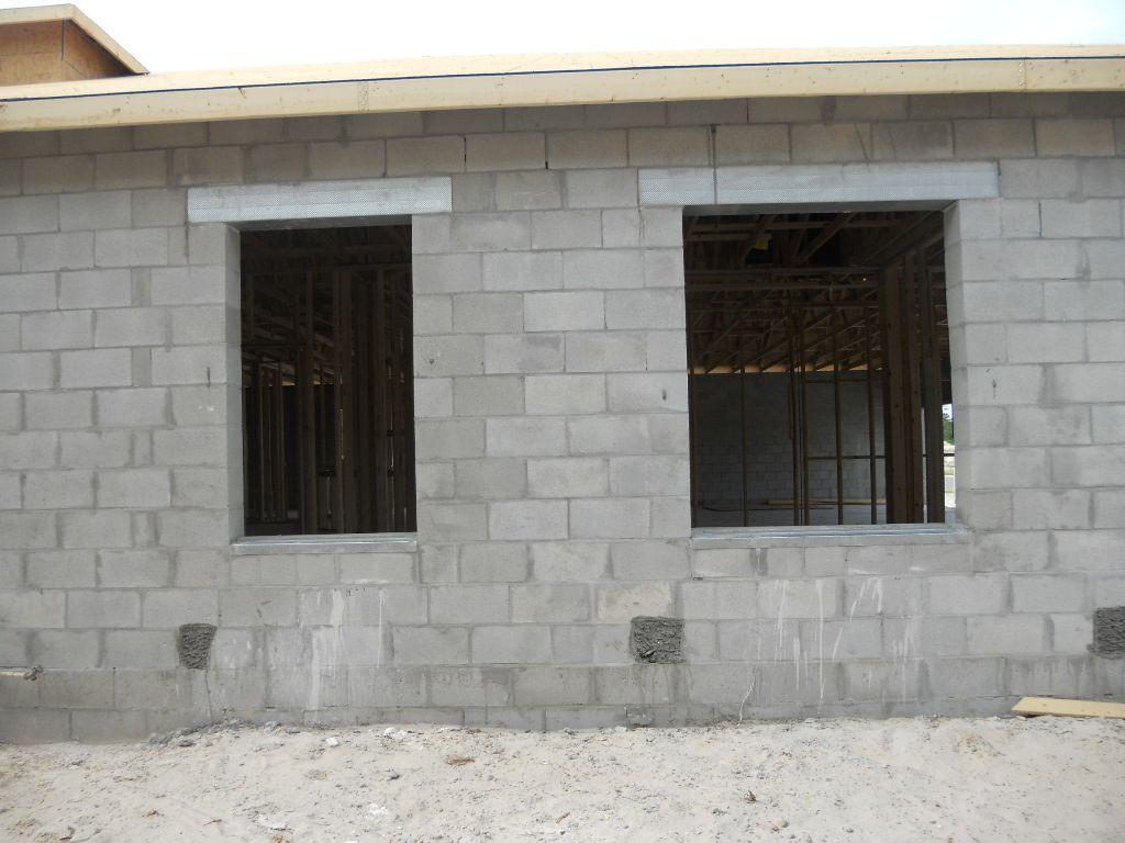 Window Lintel In Double Masonry Wall Steel Architecture Exterior Brick Masonry Wall