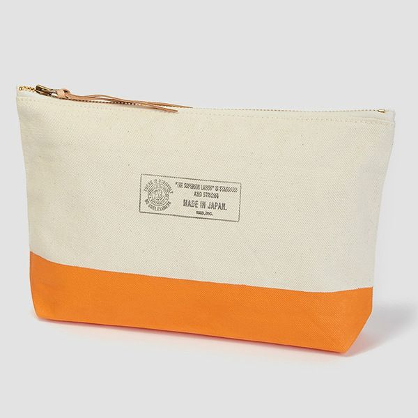 Don't stash your toiletries in an old Tesco bag when on holidays. This Superior Pouch is sturdy stuff for men on the move. | £35