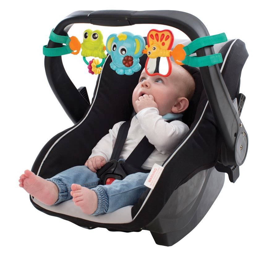Pram Carseat Toy Bar