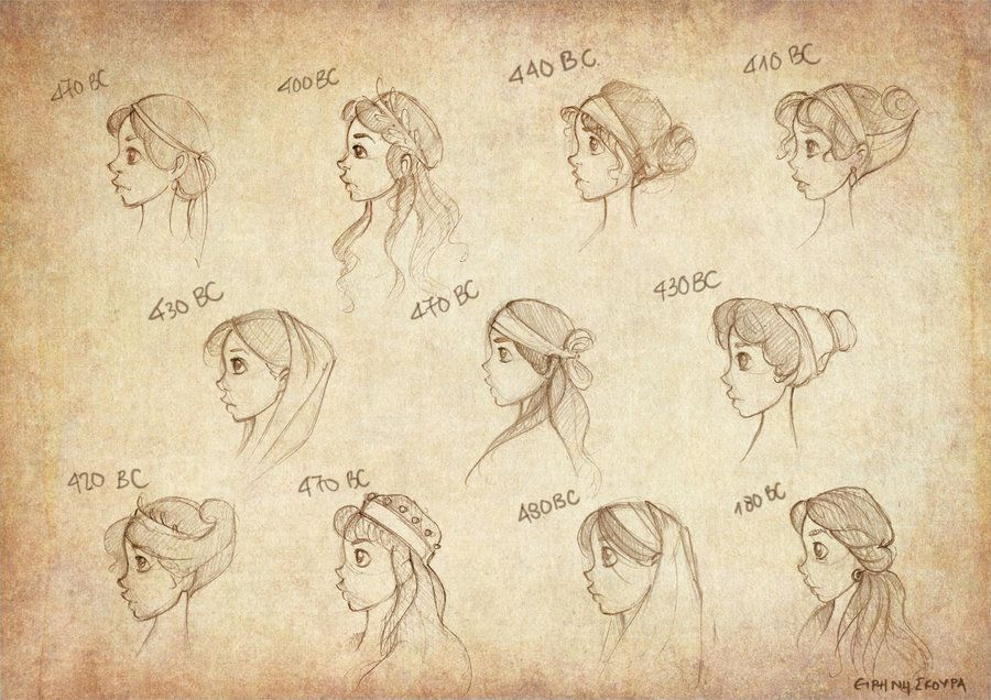 Super 1000 Images About Ancient Hairstyles On Pinterest Updo Woman Short Hairstyles Gunalazisus