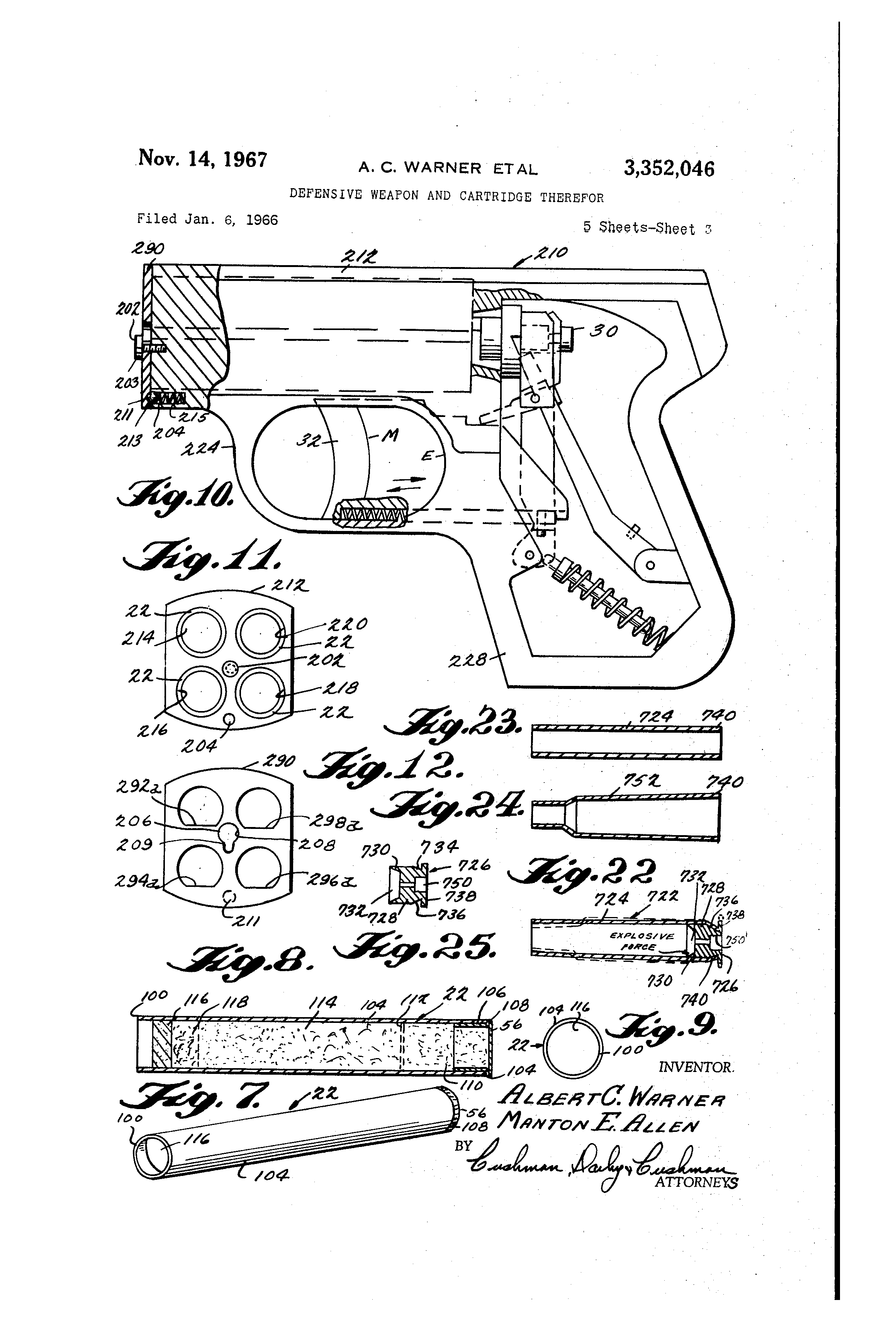 Patent Drawing Patentartvintage