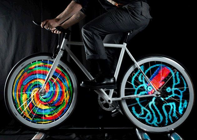 Monkey Light Pro Animated Led Bicycle Wheel Lights Bicicletta