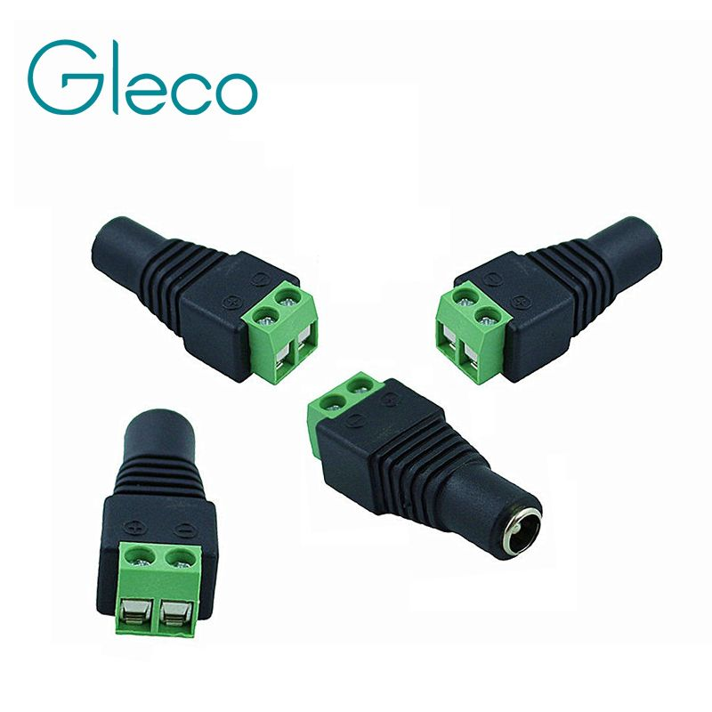 DC Connector for single color led strip to Power Adapter ,Easy to ...