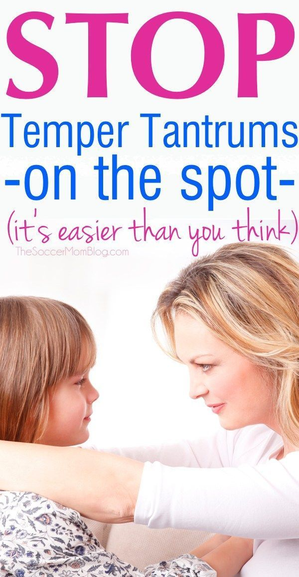 how parents can avoid temper tantrums How can parents avoid temper tantrums sometimes, temper tantrums are a result of a child learning a new skill or their inability to express anger or frustration they can happen at any moment.