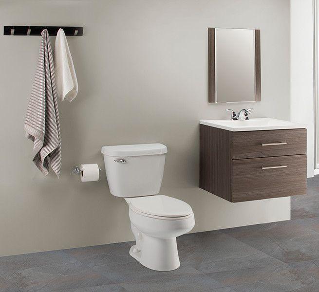 Un estilo sencillo puede ser un gabinete empotrable de for Accesorios para poner toallas en el bano
