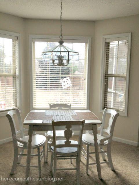 Bay Window Treatments Dining Room Diy Bay Window Curtain Rod For Less Than $10  Diy Bay Window