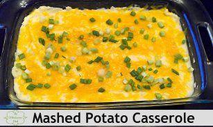 Mashed Potato Casserole - The Wholesome Dish