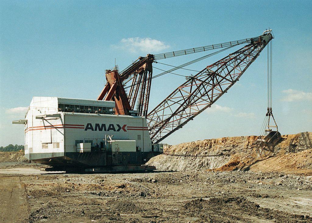 AMAX Coal Company (Ayrshire Mine)Marion 8950 Dragline