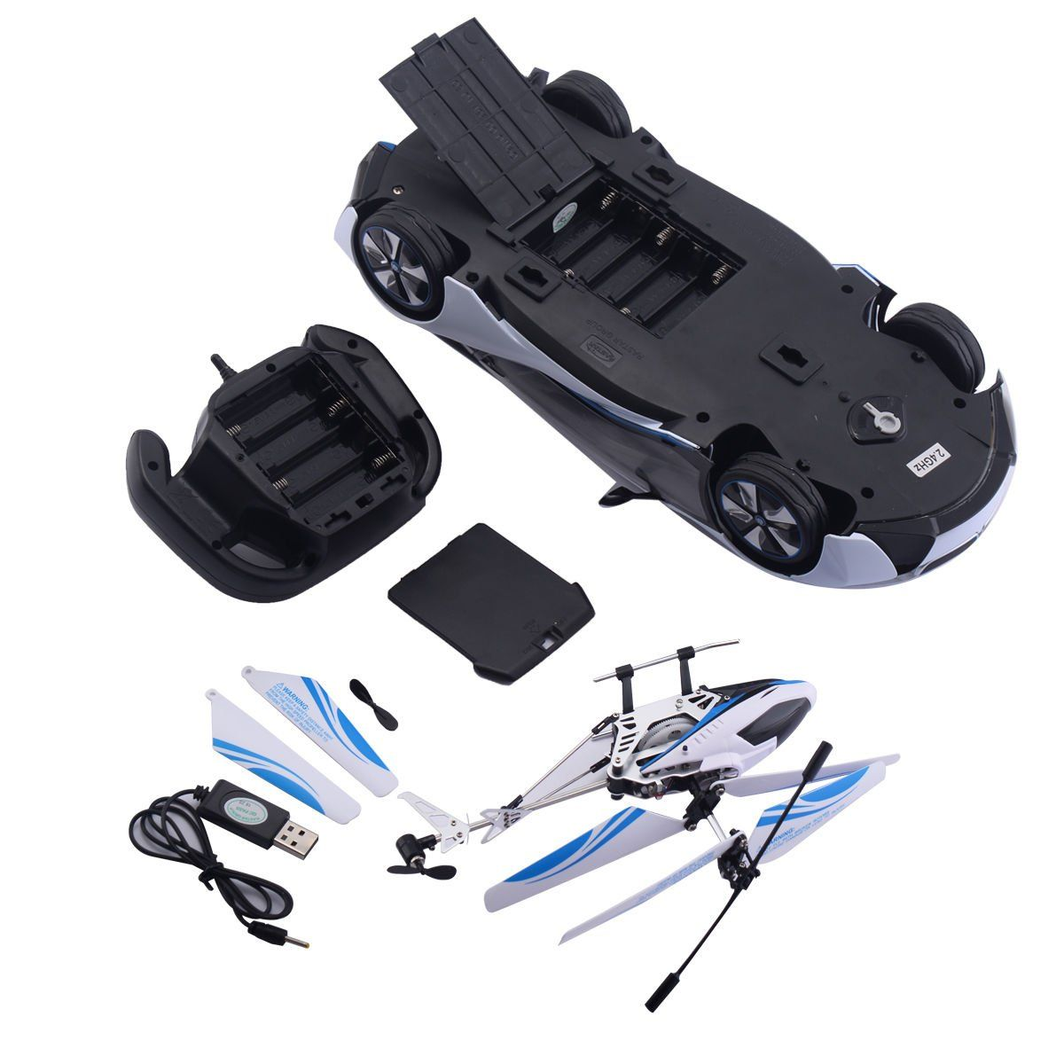 Costzon Radio Control 1 14 2 4g Speed Bmw I8 Model Car Helicopter