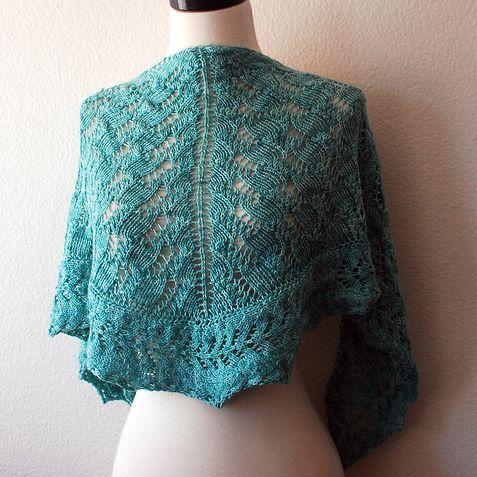 one skein shawl pattern