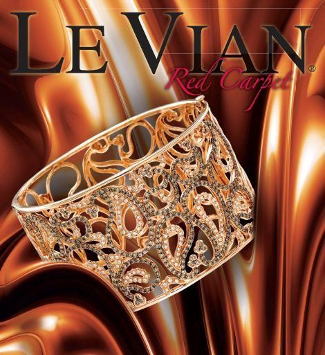 le vian jewelry chocolate diamond cuff bracelet bling. Black Bedroom Furniture Sets. Home Design Ideas
