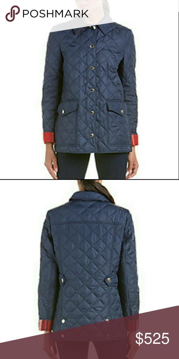 Burberry Westbridge Check Diamond Quilted Jacket Quilted Jacket Jackets Jacket Brands