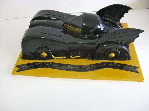 Batman Car Birthday Cake THB79 Cakes Cookies Pinterest