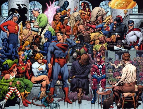 Justice Forever Album On Imgur Dc Comics Wallpaper Justice Society Of America Superhero Comic
