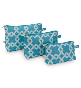 Travel Cosmetic Bags (Set of 3) Image