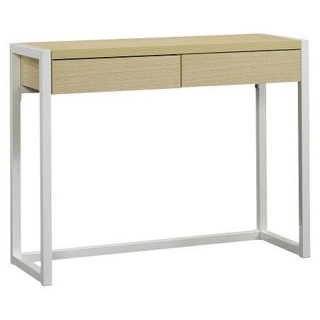 Desk Wood Metal White Room Essentials Target