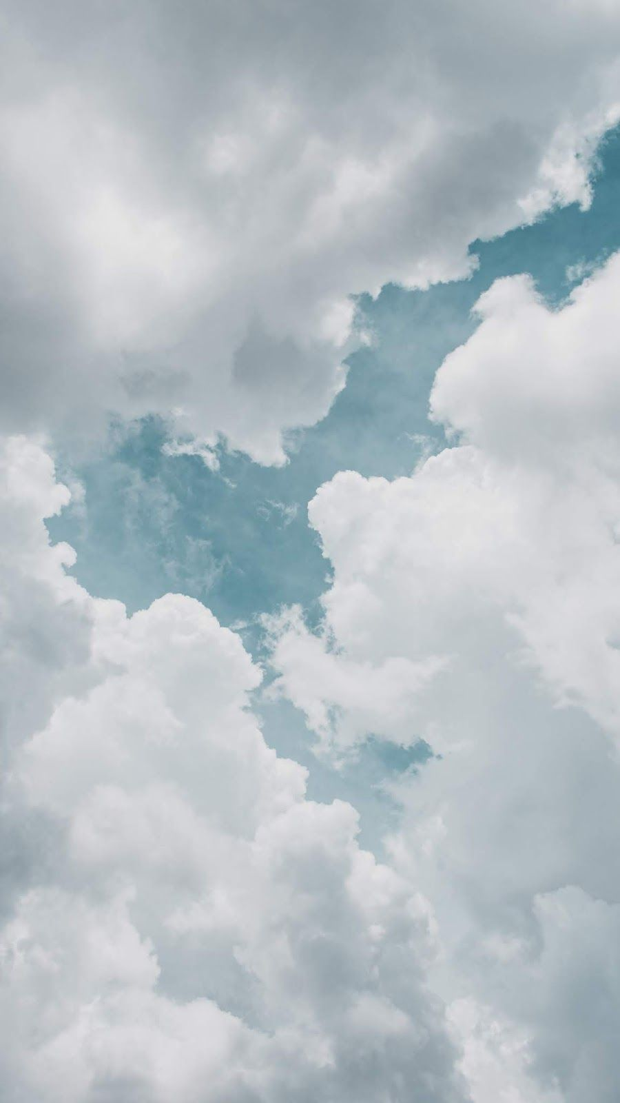 Clouds wallpaper iphone android background followme   Clouds ...