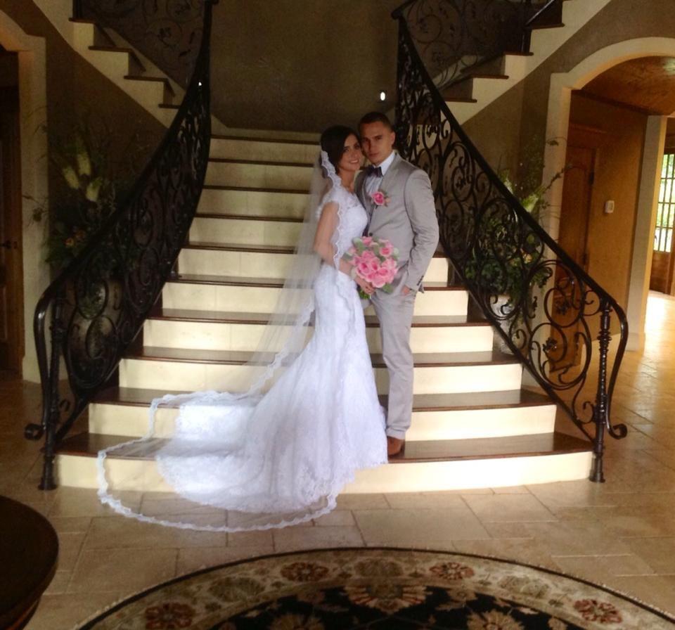 #allure #real #brides Allure Bridals Style: 9000