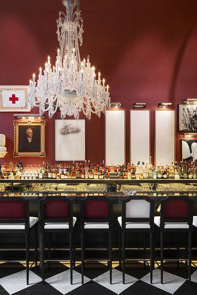 Baccarat hotel new york usa living lounge hotel for Design hotel usa