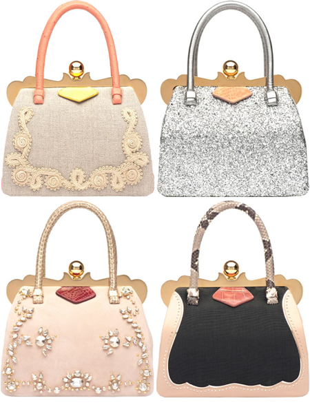 Miu Miu s limited-edition line of handbags celebrating international  fashion week season. 66cda7304e