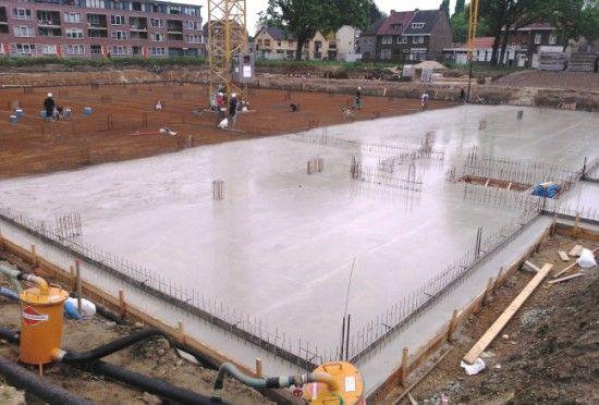 Gevlinderder betonvloer Molenbeek te Sittard. www.nieuweborg.nl