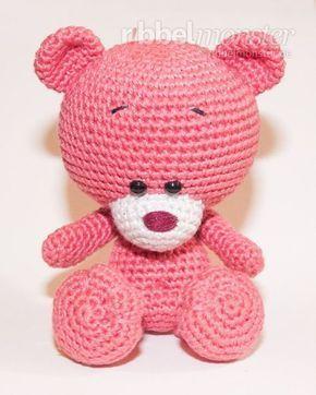 Kostenlose Anleitung Amigurumi Teddy Häkeln Pina Teddy Bear