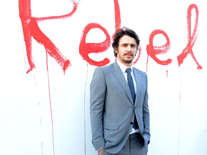 this man does not sleep.  So talented, curious, gutsy, a real rennaissance man, Mr. Franco.