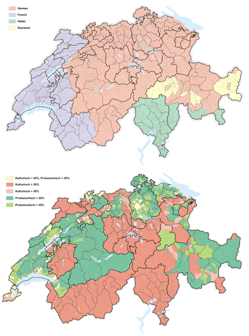 What is the language in Switzerland